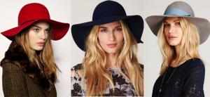 шляпы из фетра
