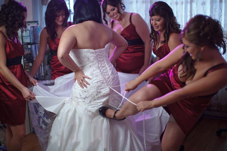модные цвета свадебного платья