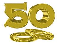 50 лет брака - золотая свадьба