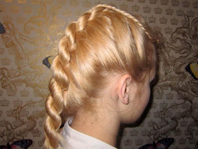 Как сделать веревку из волос