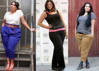брюки для полных женщин