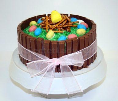 шоколадные бортики кулича