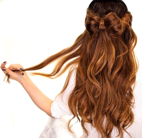 праздничная укладка для волос