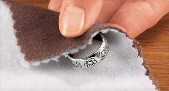 как отчистить серебро