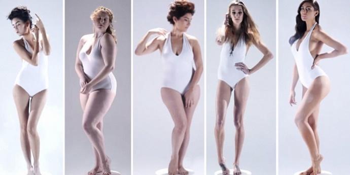 фигуры женщин