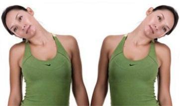 наклоны головы - комплекс упражнений для разминки шеи