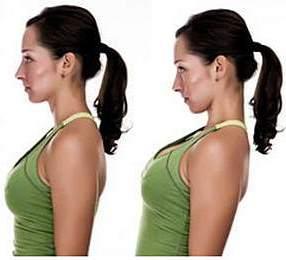 упражнения для шеи - натяжение шеи