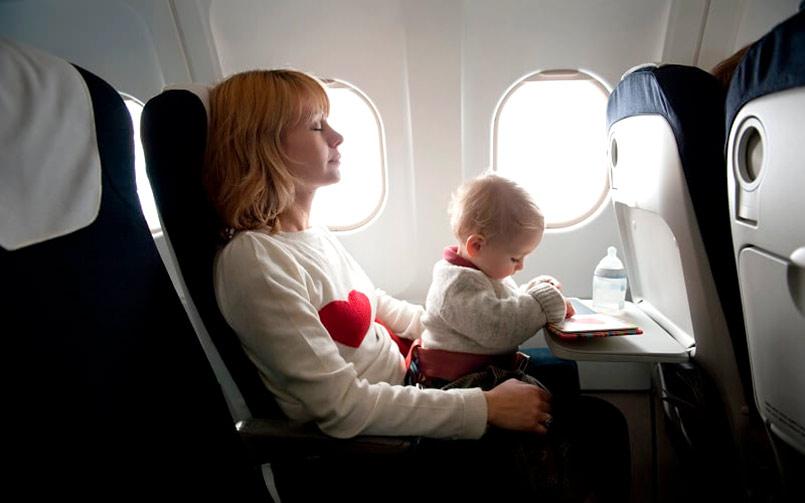 перелет с ребенком
