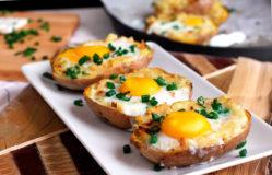 картофель запеченный в духовке с сыром рецепт