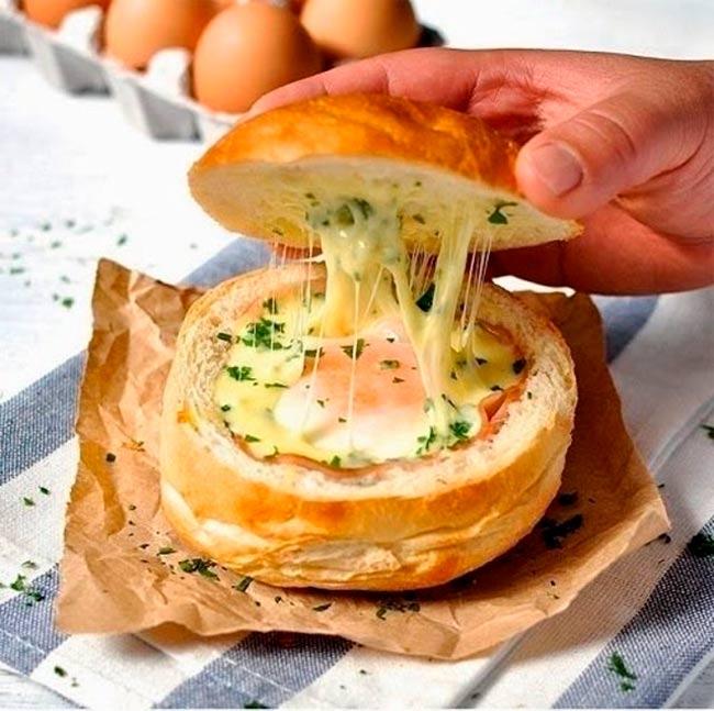 рецепты быстрых закусок горячие бутерброды в духовке