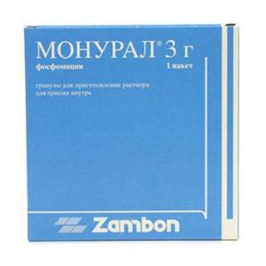 Препарат для лечения цистита - Монурал