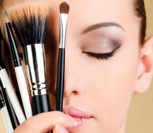 Повседневный макияж лица